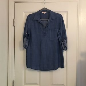 Anthropologie Skies Are Blue Tunic Top